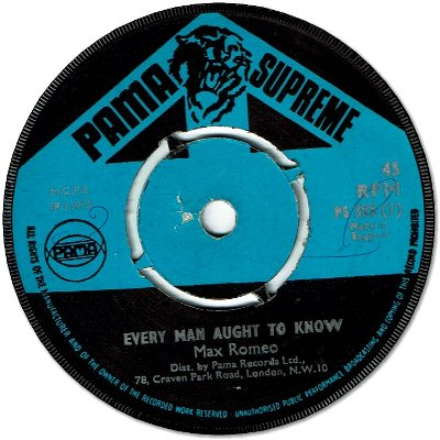 EVERY MAN AUGHT TO KNOW (VG+) / VERSION (VG)