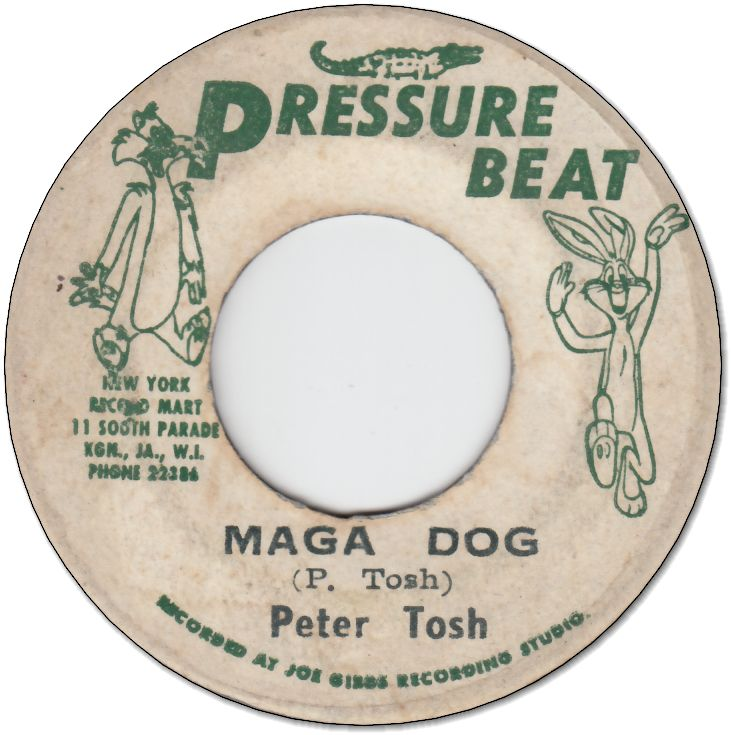 MAGA DOG (VG- to VG) / BULL DOG (G-)