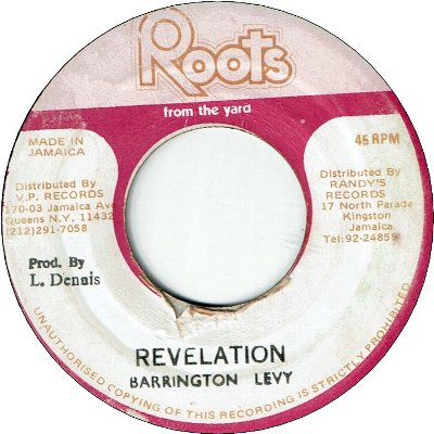REVELATION (VG) / DUB VERSION (VG)