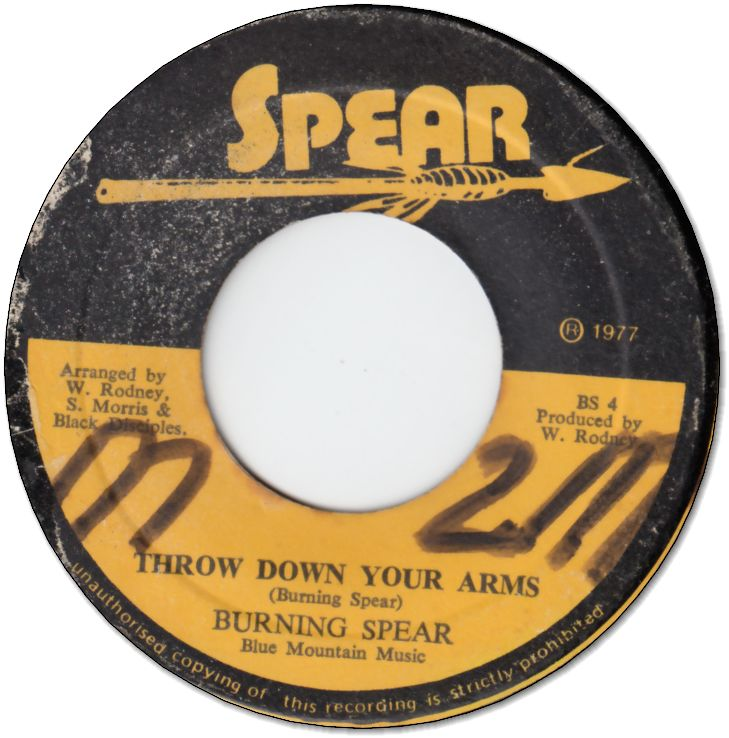 THROW DOWN YOUR ARMS (VG/WOL) / I LONG TO SEE YOU (VG+)