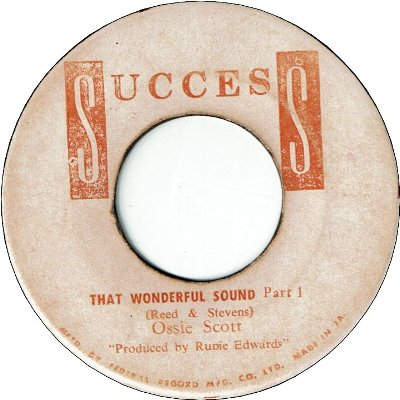 THAT WONDERFUL SOUND (VG) / I WASN'T BORN YESTERDAY