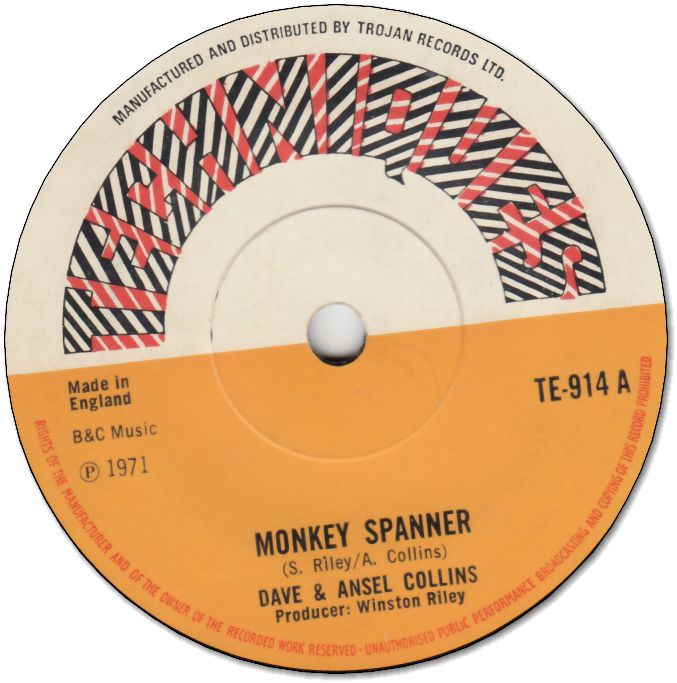 MONKY SPANNER (VG+) / VERSION TWO (VG+)