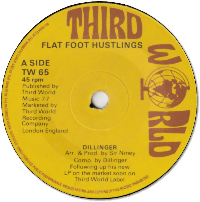 FLAT FOOT HUSTLING (VG+) / UNDER TIGHT RAPS