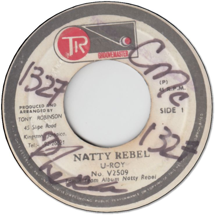 NATTY REBEL (VG+/WOL) / VERSION (VG/WOL)
