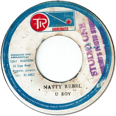 NATTY REBEL (VG/Stamp)