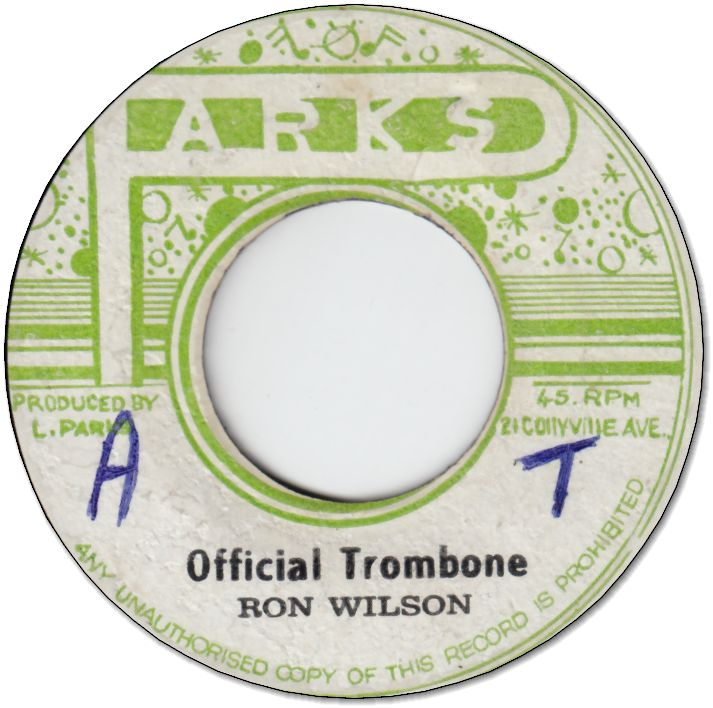 OFFICIAL TROMBONE (VG) / PRESENTING CHEATER (VG)