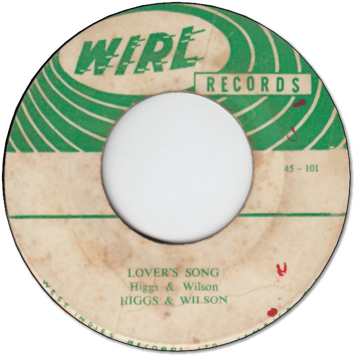LOVER'S SONG (VG+) / IT IS A DAY (VG+)