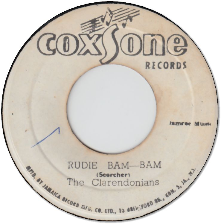 RUDIE BAM BAM (VG- to VG) / BE BOP BOY (VG-)