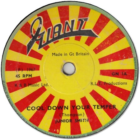 COOL DOWN YOUR TEMPER (VG) / I'M GROOVIN (VG+)