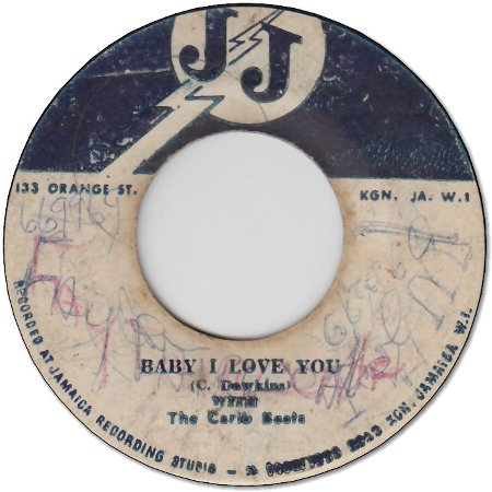 BABY I LOVE YOU (VG-/WOL) / HARD TIME (VG-/WOL)
