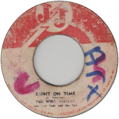 RIGHT ON TIME (VG-/LD) / HOKEY POKEY (G)