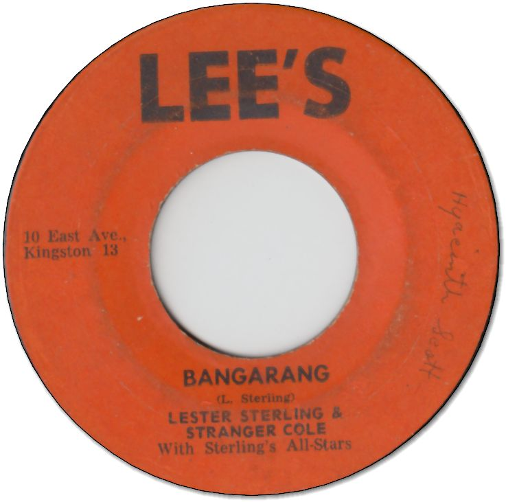 BANGARANG (VG) / SOMEONE TO LOVE (VG-)