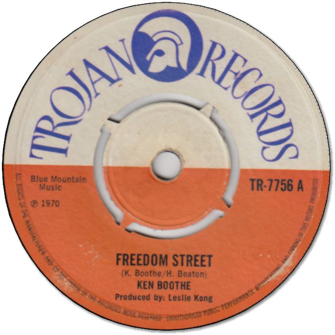 FREEDOM STREET (VG) / VERSION