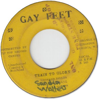 TRAIN TO GLORY (VG/WOL) / YOU'VE GOT THE DOUGH (VG)