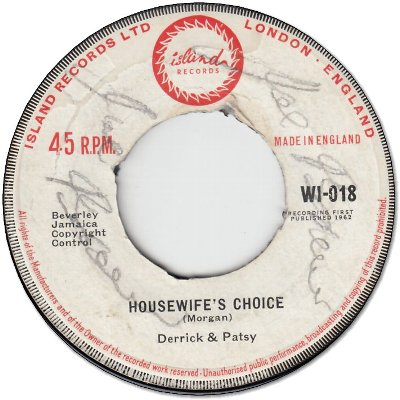 HOUSEWIFES CHOICE (VG+/WOL) / GYPSY WOMAN (VG- to VG+/WOL)