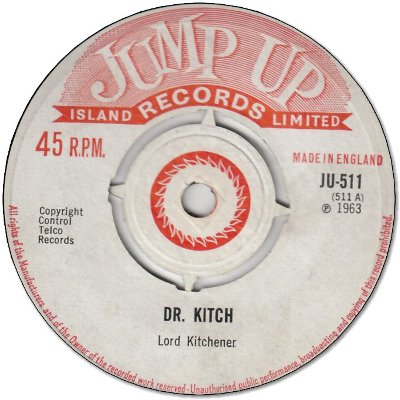 DR KITCH (VG+) / COME BACK HOME MEH BOY (VG+)