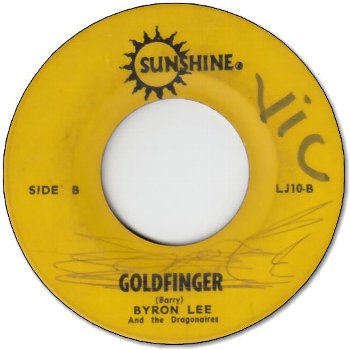 GOLDFINGER (VG/WOL) / HANG ON SLOOPY (VG/WOL)
