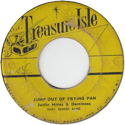 JUMP OUT OF FRYING PAN (VG) / HOLY DOPE (VG)