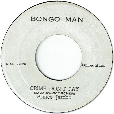 CRIME DON'T PAY (VG to VG+) / FOR THE GOOD TIMES (VG)
