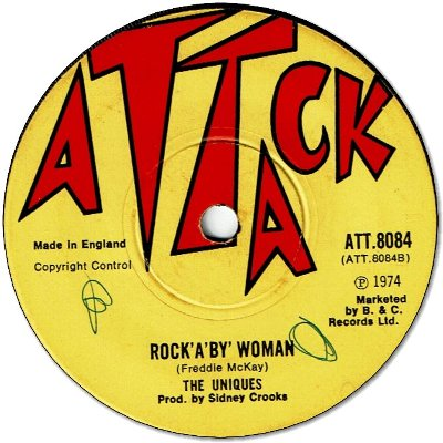 ROCK'A'BY WOMAN (VG+/WOL) / LOVE VIBRATION (/WOL)