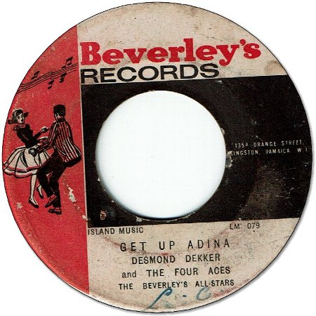 GET UP ADINA (VG to VG+) / SLEEPWALK