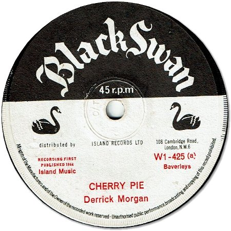 CHERRY PIE (VG+) / REMEMBER WHERE YOU'RE FROM (VG+)
