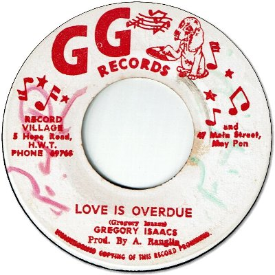 LOVE IS OVERDUE (VG+/WOL) / VERSION (VG)