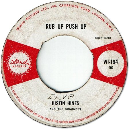 RUB UP PUSH UP (VG) / THE ARK (VG)