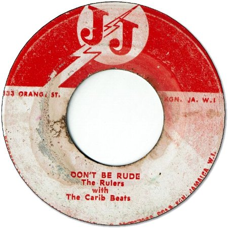 DON'T BE RUDE (VG) / BE GOOD (VG-)