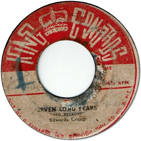 SEVEN LONG YEARS (VG/LD) / DEAR HEARTS & GENTLE PEOPLE (VG/LD)