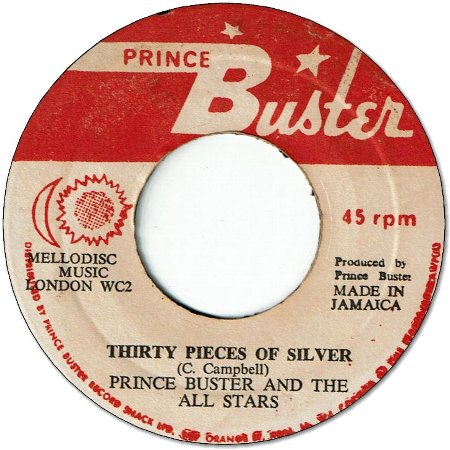 WINGS OF A DOVE (VG+) / THIRTY PIECES OF SILVER