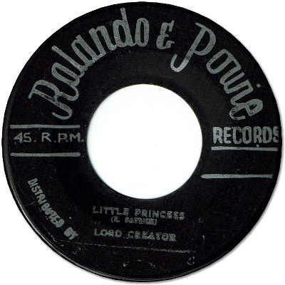 LITTLE PRINCESS(VG) / THE END(VG)