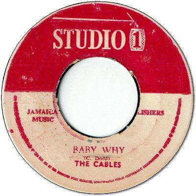BABY WHY (VG) / BE A MAN (VG)
