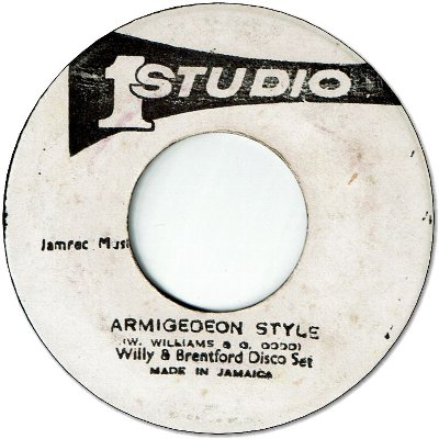 ARMIGEDEON TIME (VG+) / ARMIGEDEON STYLE (VG+)