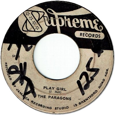 PLAY GIRL (VG to VG+/WOL) / LOVE AT LAST (VG to VG-)