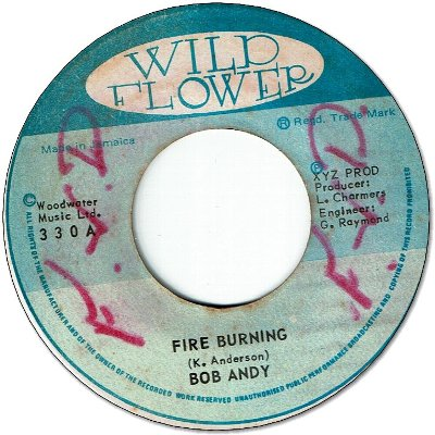 FIRE BURNING (VG+/WOL) / BURNING DRUMS (VG/WOL)