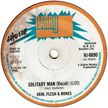SOLITARY MAN (VG+) / VERSION (VG+)