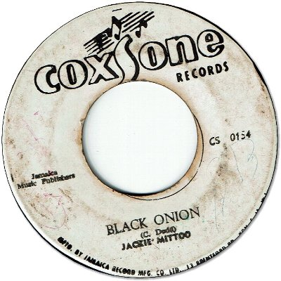 HOKNEY JOKEY (VG) / BLACK ONION
