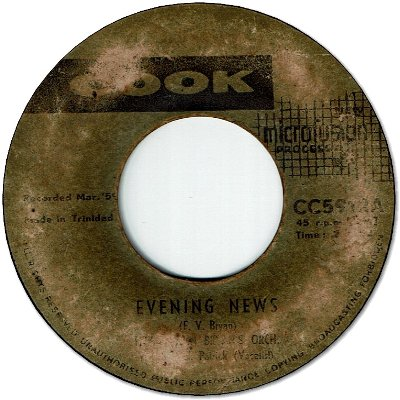 EVENING NEWS (G to VG-/LD) / HOLD UP YOUR HEAD AND SMILE (G-)