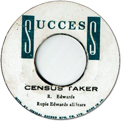 CENSUS TAKER (VG+) / SOULING WAY OUT (VG+)