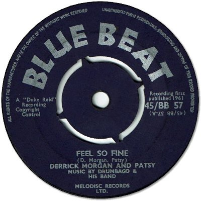 FEEL SO FINE (VG) / MEAN TO ME