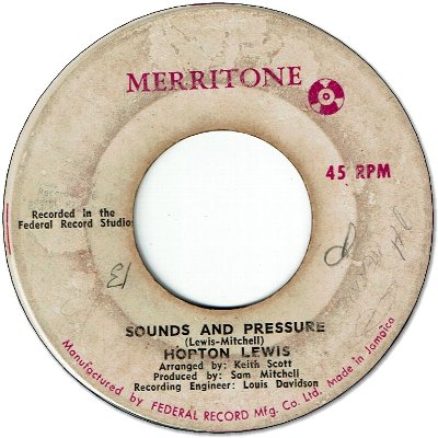 SOUND & PRESSURE (VG) / OH TELL ME DARLING (VG+/WOL)