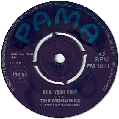RIDE YOUR PONY (VG+) / WESTERN PROMISE (VG+)