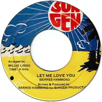 LET ME LOVE YOU (VG+)