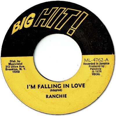 I'M FALLING IN LOVE (VG to G+)