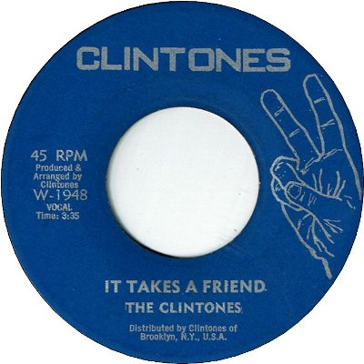 IT TAKES A FRIEND (VG) / VERSION (VG)