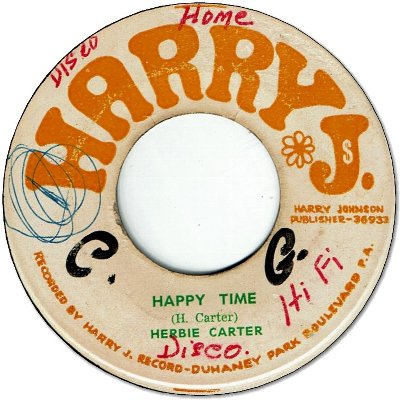 HAPPY TIME (VG/WOL) / EASY SOUND(aka SMASHVILLE) (VG/WOL)
