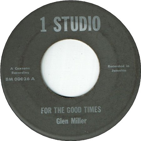 CRIM DON'T PAY (VG+) / FOR THE GOOD TIMES (VG+)