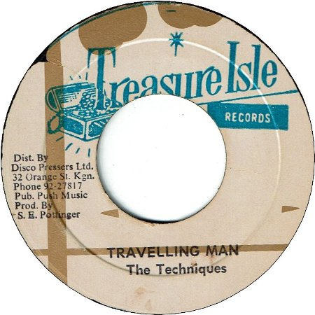 TRAVELLING MAN (VG+) / MY GIRL (VG)