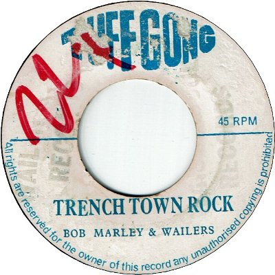 TRENCH TOWN ROCK (VG/WOL) / GROOVING KGN.12 (VG)